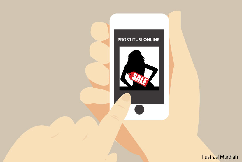 Online prostitution (Illustration)