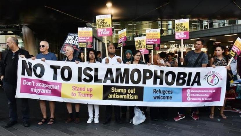 Protes menentang Islamofobia di Eropa
