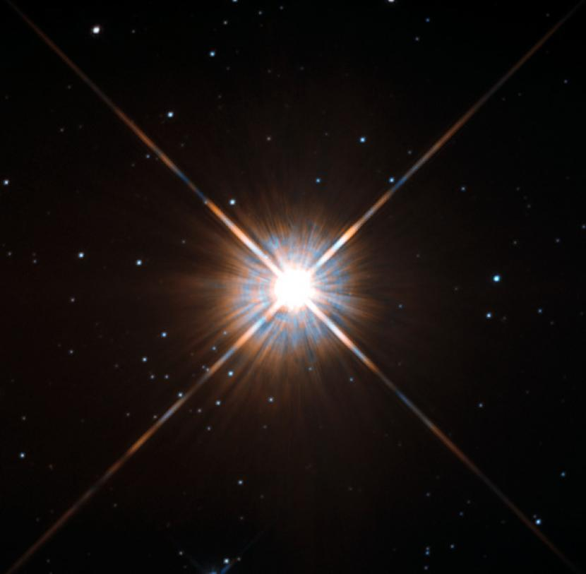 Ledakan Raksasa Muncul dari Bintang Terdekat Matahari