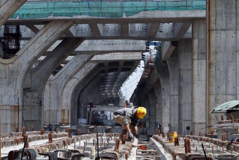 Proyek jalan tol (ilustrasi)
