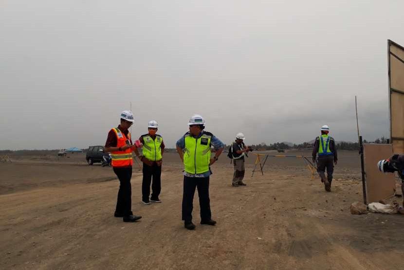 Proyek pembangunan bandara NYIA Kulonprogo.