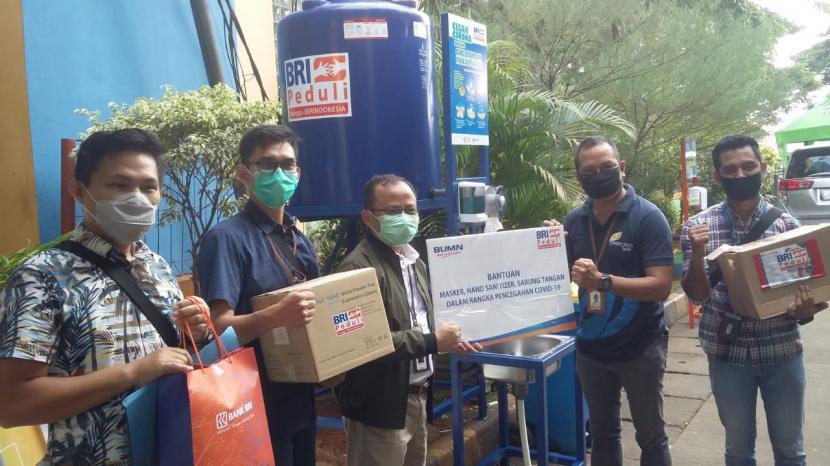 BRI Kramat Jati Salurkan Bantuan Cegah Covid-19 ...