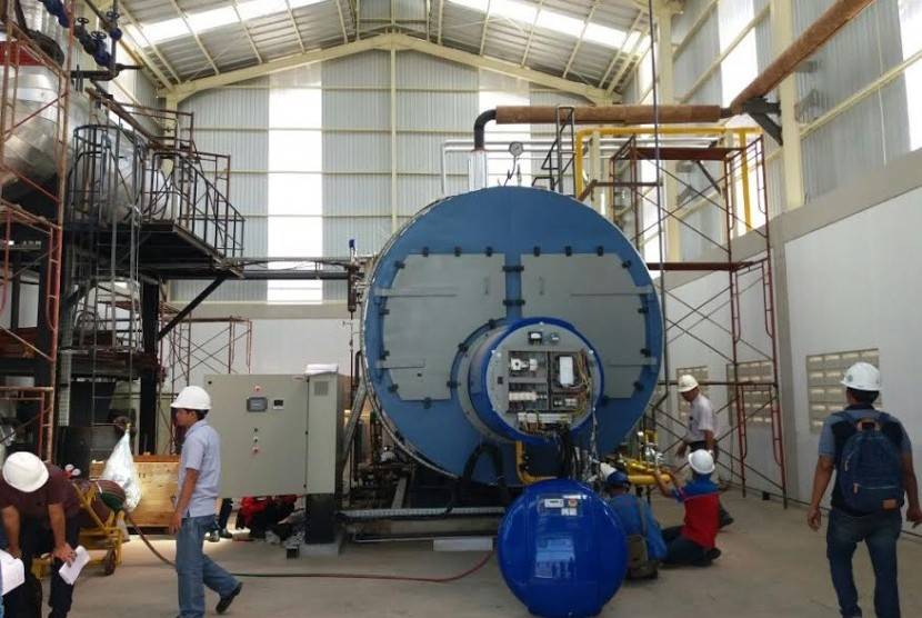 PT Fajar Surya Tridasa at Bekasi, West Java has been using gas supplied by PGN for their paper factory.