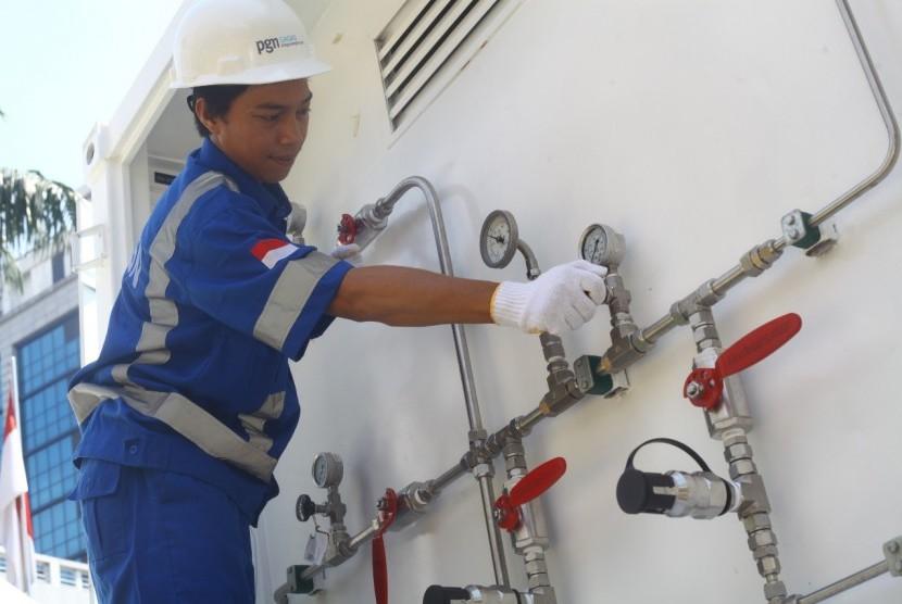 PT Gagas Energi Indonesia (Gagas), anak Perusahaan Gas Negara (PGN) meluncurkan Gaslink, produk gas bumi dalam bentuk Compressed Natural Gas (CNG), di Lampung.