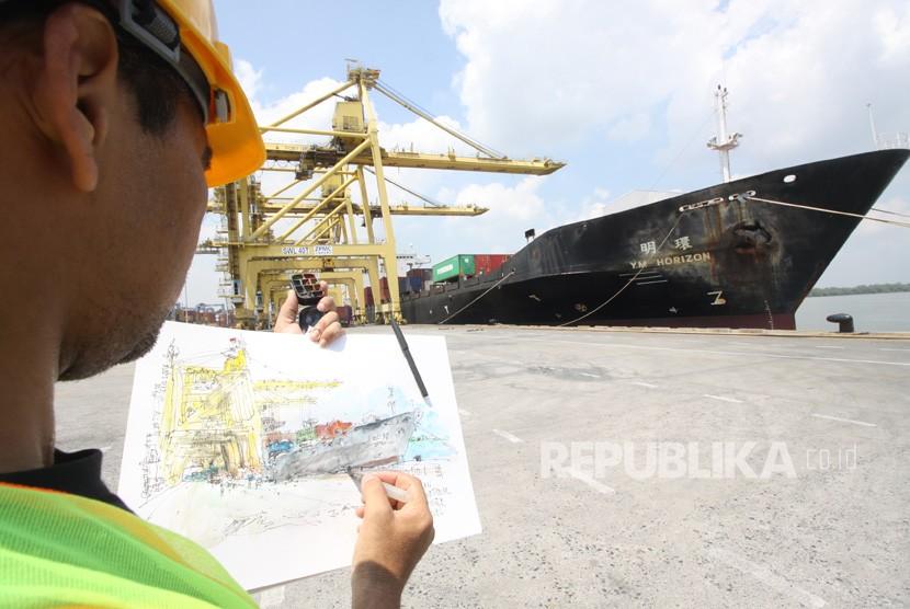 PT Pelabuhan Indonesia I. (Ilustrasi)