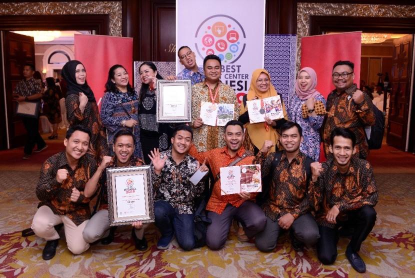 PT Perusahaan Gas Negara Tbk (PGN) meraih 5 penghargaan dalam 4 kategori dalam ajang The Best Contact Center Indonesia  2019 di Hotel Shangri-La, Jakarta, Selasa (10/9).