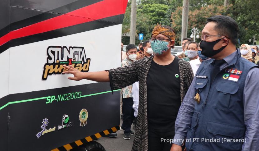 PT Pindad, Stungta X Pindad, produk pemusnah sampah ramah lingkungan.