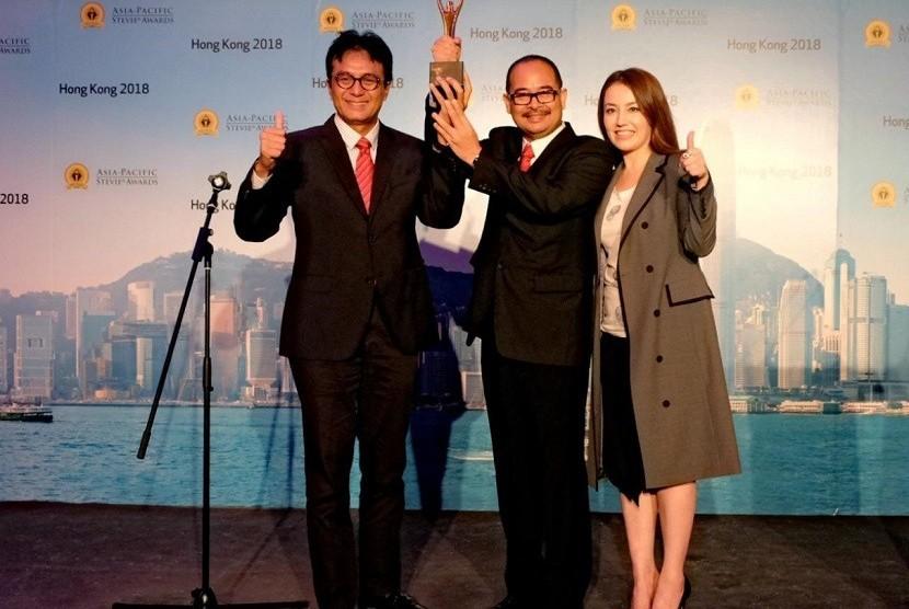PT Tekom Indonesia (Persero) Tbk (Telkom) memborong 57 Penghargaan pada ajang Asia Pacific Stevie Awards 2018 sekaligus meraih penghargaan tertinggi Grand Stevie Award sebagai Organization of the Year 2018.