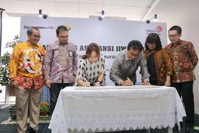PT Telkom Indonesia bersama Commonwealth Life meluncurkan produk bernama 'Jiwa Sehat'.