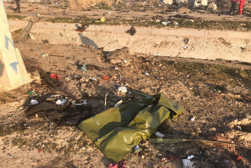 Ukraina Minta tak Ada Spekulasi Kecelakaan Pesawat di Iran