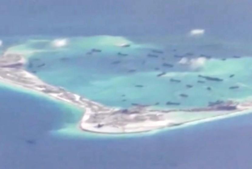 Pulau di kawasan konflik laut Cina Selatan