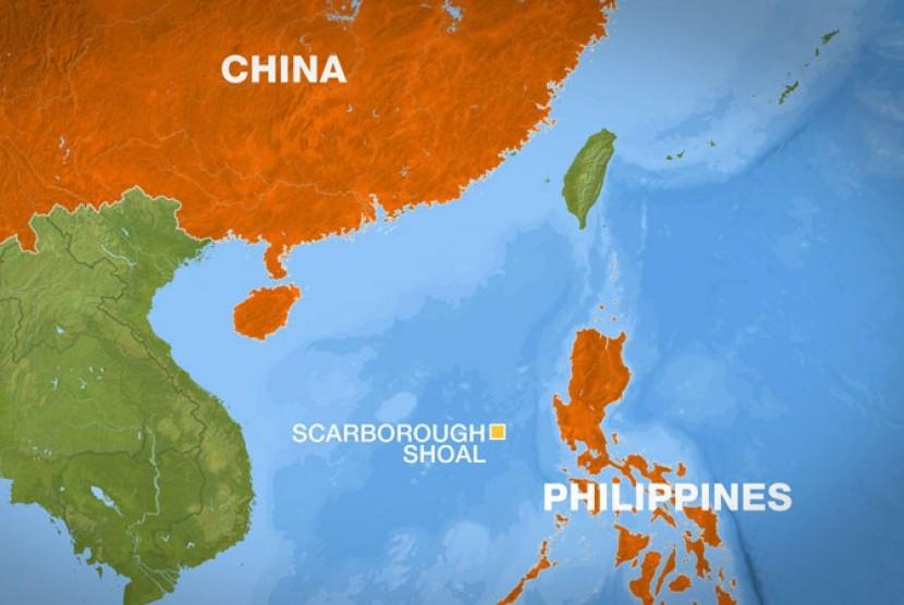 Pulau Scarborough yang diperebutkan Cina dan Filipina