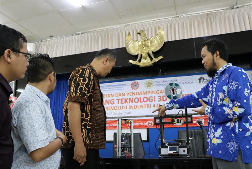 Puluhan Guru SMK Ikuti Pelatihan Teknologi 3D Printing di UGM