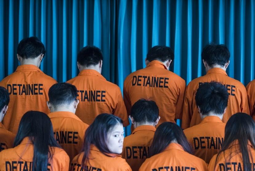Puluhan WNA asal Taiwan dan Cina ditangkap oleh Polda Jawa Tengah atas dugaan tindak pidana siber dan keimigrasian. (Ilustrasi)