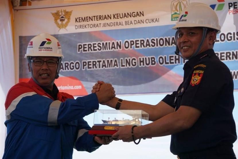 Pusat Logistik Berikat (PLB) PT Perta Arun Gas (PAG) secara resmi dibuka operasionalnya di komplek PT PAG Jalan Banda Aceh - Medan, Blang Lancang, Muara Satu, Lhokseumawe, Aceh.