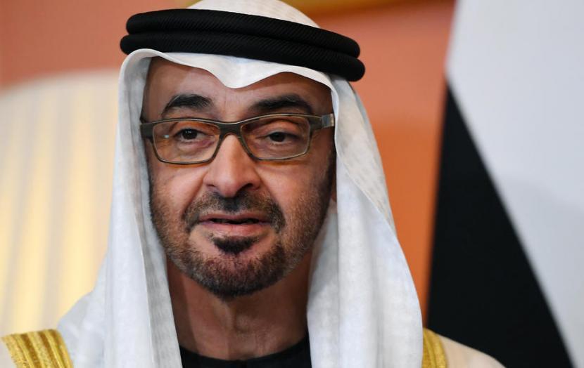 Putra Mahkota Abu Dhabi Sheikh Mohamed bin Zayed