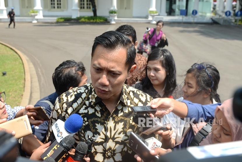 Putra Presiden ke-6 RI, Agus Harimurti Yudhoyono.