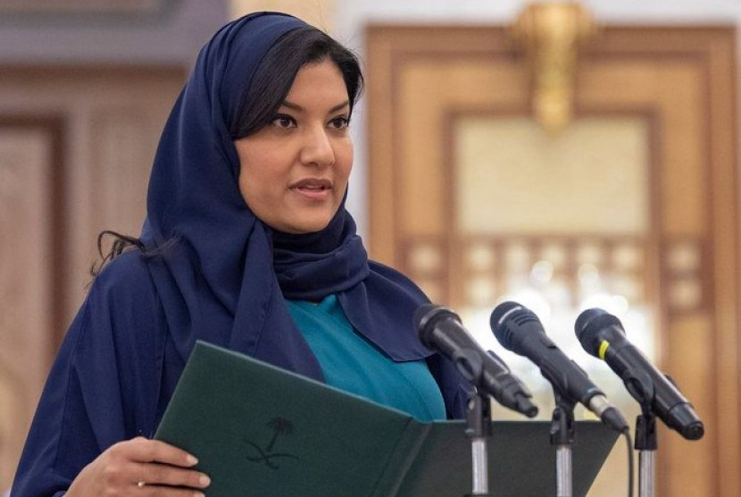 Putri Reema binti Bandar bin Sultan resmi dilantik sebagai duta besar Arab Saudi untuk Amerika Serikat (AS), Rabu (17/4).