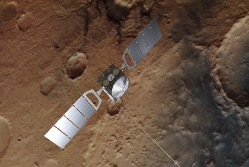 Radar memutari Planet Mars