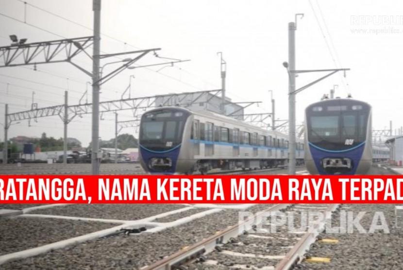 Rangkaian kereta Moda Raya Terpadu, MRT (ilustrasi)