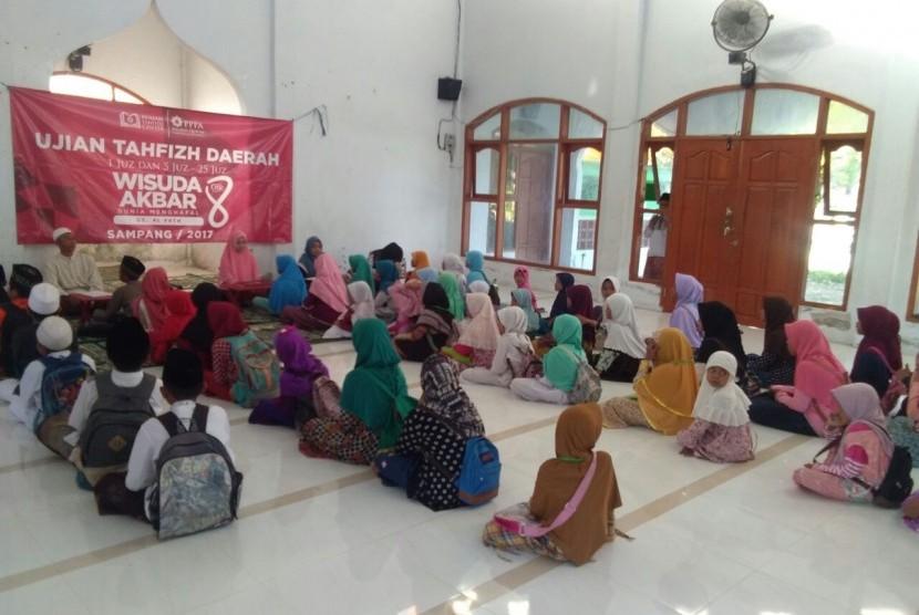 Rangkaian wisuda akbar ke-8 PPPA Daarul Qur'an.