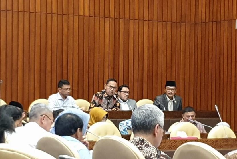 Rapat dengar pendapat DPR dengan Kementan di Senayan jakarta