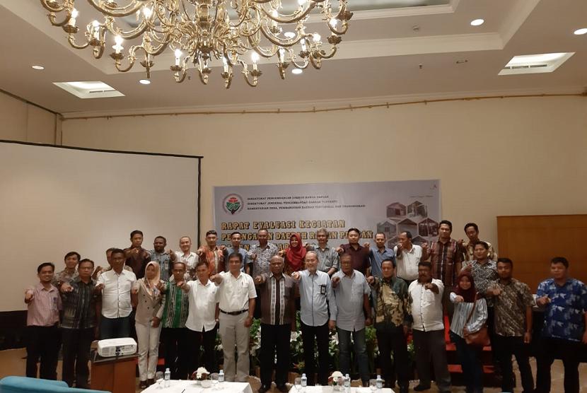 Rapat Evaluasi Kegiatan Penanganan Daerah Rawan Pangan Tahun 2018.