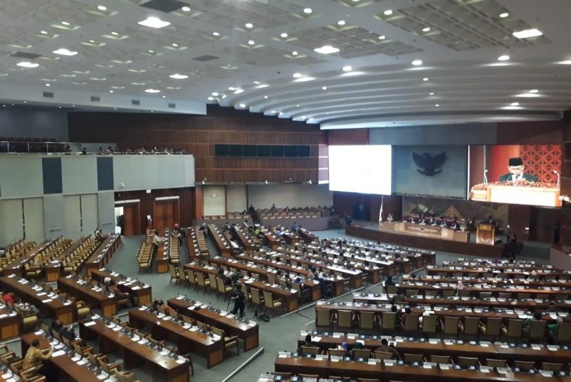Rapat Paripurna DPR menyepakati RUU tentang perubahan atas UU Nomor 15/2003 tentang Penetapan Peraturan Pemerintah Pengganti Undang undang Nomor 1 Tahun 2002 tentang Pemberantasan Tindak Pidana Terorisme menjadi UU, Jumat (25/5).