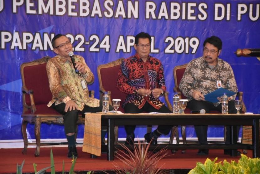 rapat pemberantasan rabies di Balikpapan