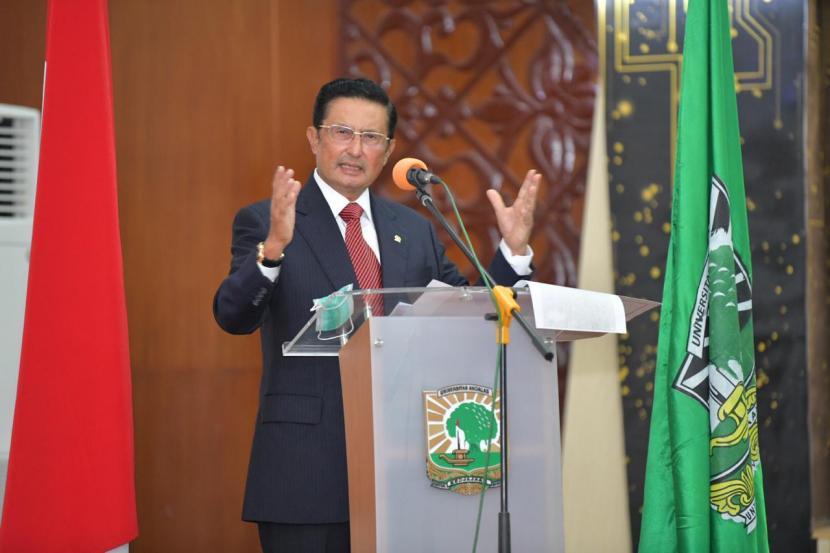 Rapat Terbuka Senat Dan Pimpinan Fakultas Pertanian Universitas Andalas Padang, Wakil Ketua MPR Fadel Muhammad mengingatkan, sektor pertanian bisa menjadi tulang punggung pembangunan nasional.