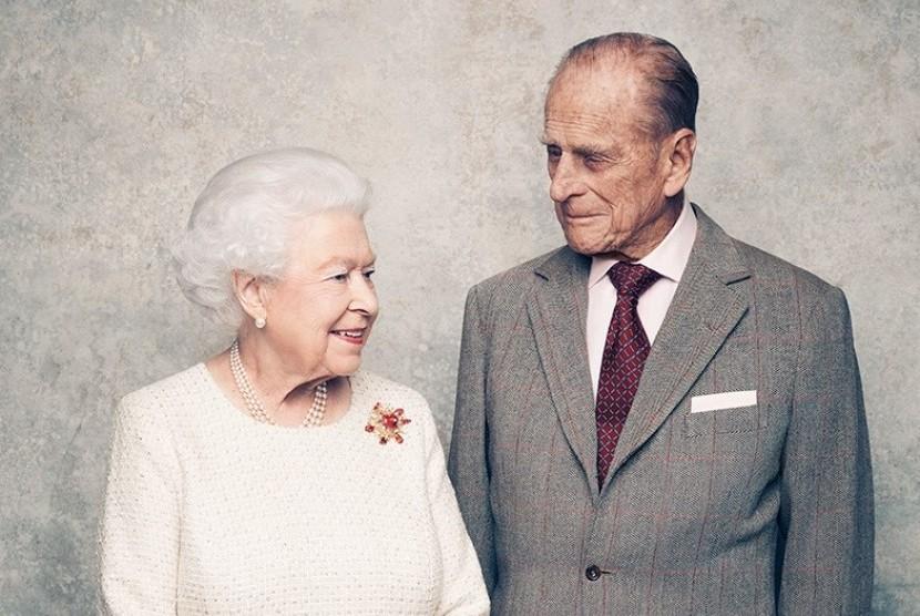 Ratu Elizabeth dan Pangeran Philip.