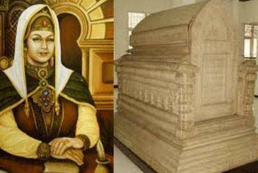 Ratu Nahrisyah dan makamnya