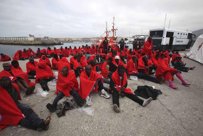Dua Perahu Migran Hilang di Lautan Spanyol