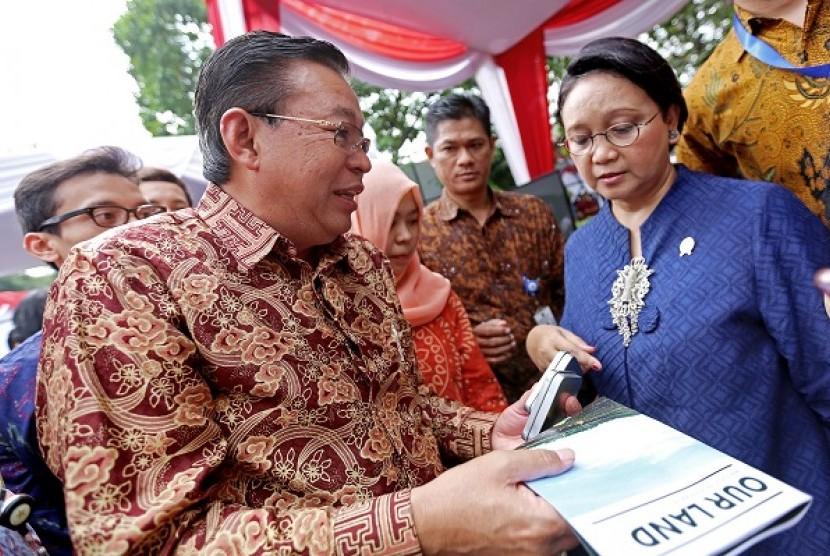 Rayakan HUT RI, Sinar Mas Gelar Bazar Rakyat di Kementerian Luar Negeri.