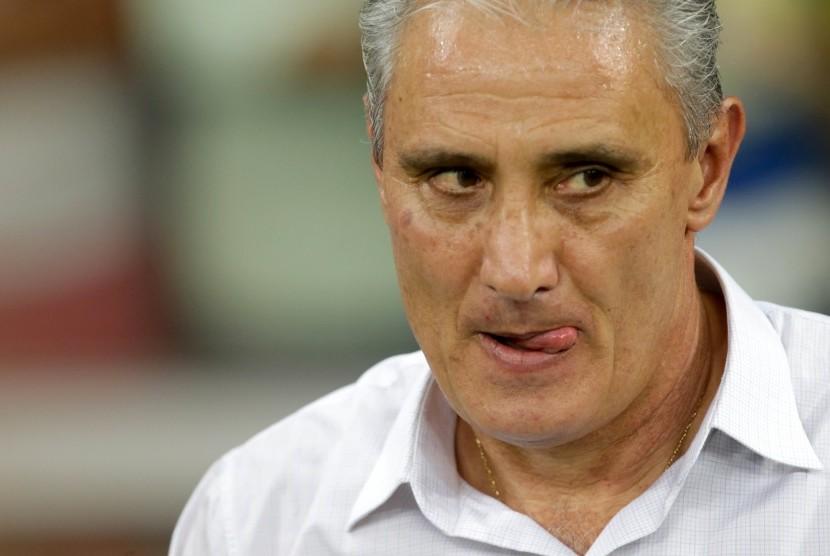 Pelatih Brasil, Tite.