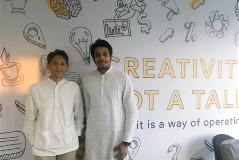 Redowan Hossain, mahasiswa Jahangirnagar University, Bangladesh belajar digital marketing melalui program magang di Oorth.