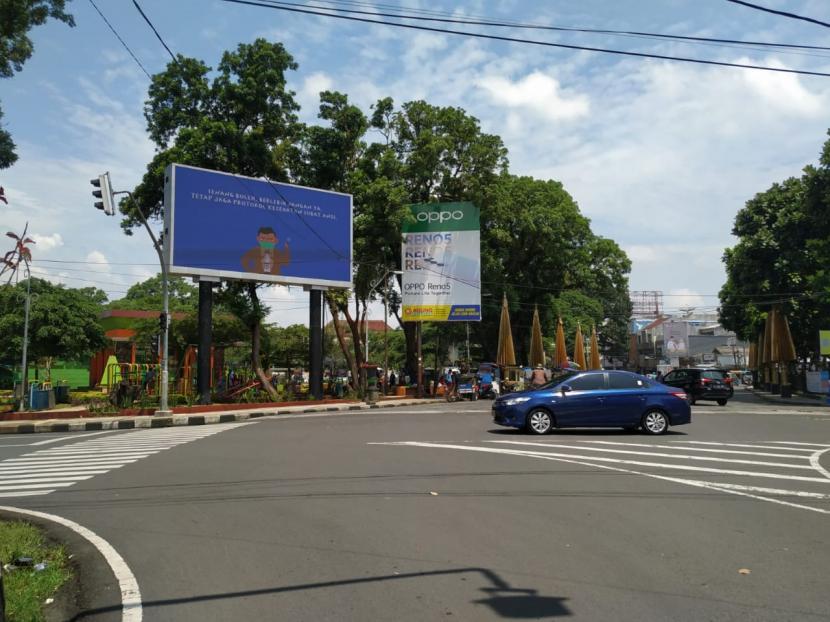 Reklame di Kota Tasikmalaya.