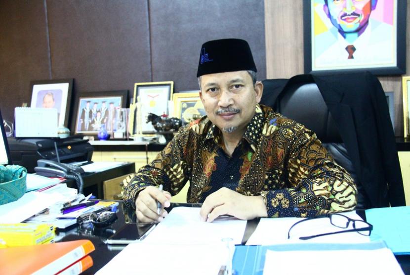 Rektor Institut Teknologi Sepuluh Nopember (ITS) Surabaya Joni Hermana
