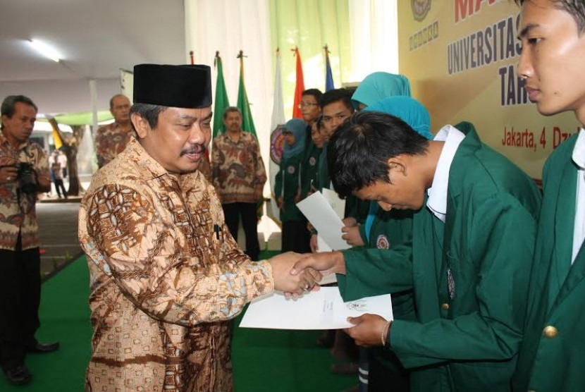 Rektor Uhamka yang juga Ketua Forum Rektor Indonesia Prof Dr Suyatno