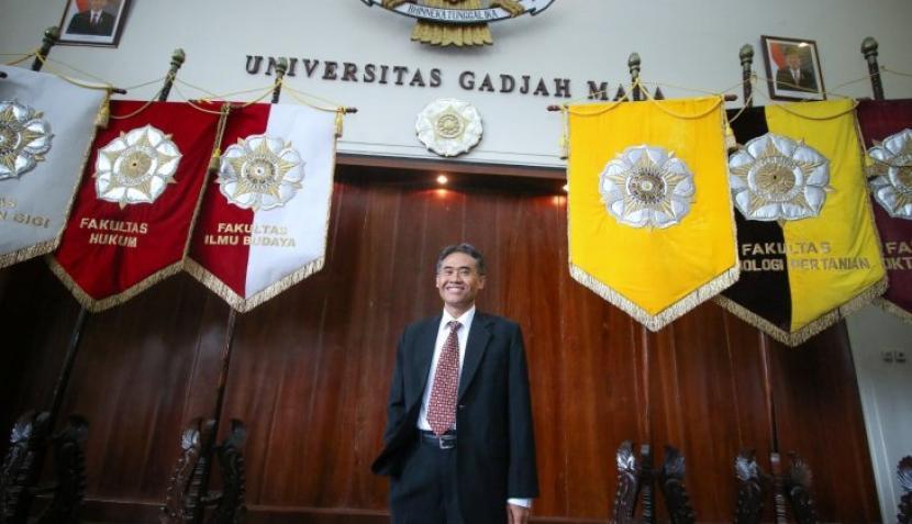 Rektor Universitas Gadjah Mada (UGM), Prof Panut Mulyono.