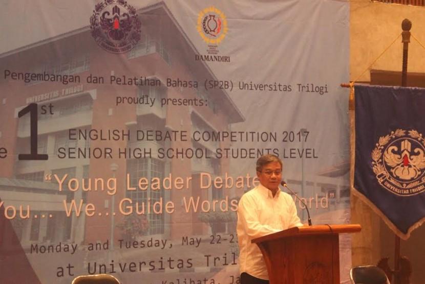 Rektor Universtias Trilogi Asep Saefuddin.