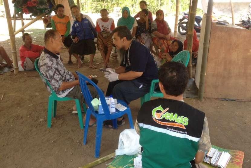 Relawan Gemas di Lombok.