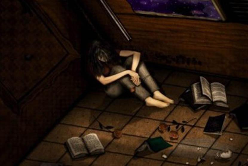 Remaja depresi/ilustrasi