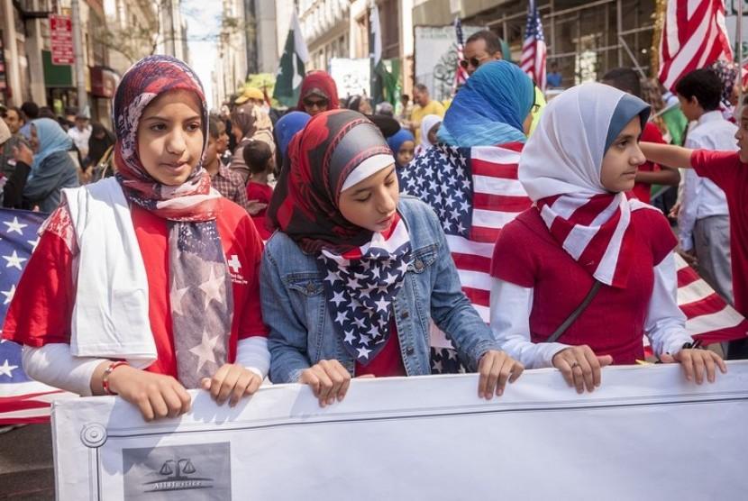 Remaja Muslim di Amerika Serikat (Ilustrasi)