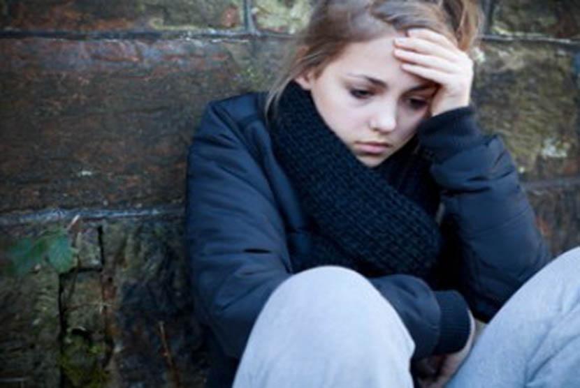 Remaja stres/ilustrasi