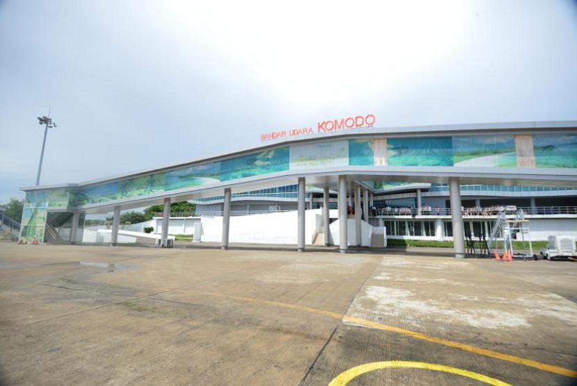 Rencana pembangunan Bandara Komodo.