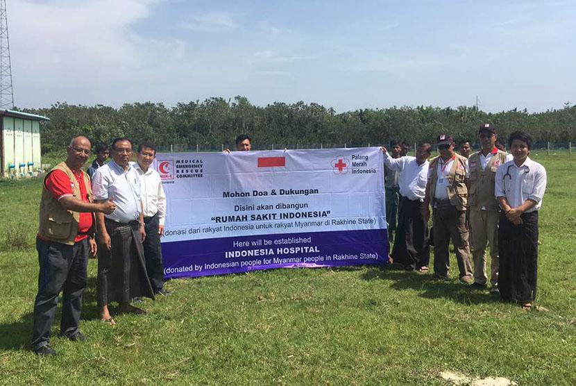 Rencana pembangunan rumah sakit di Myanmar