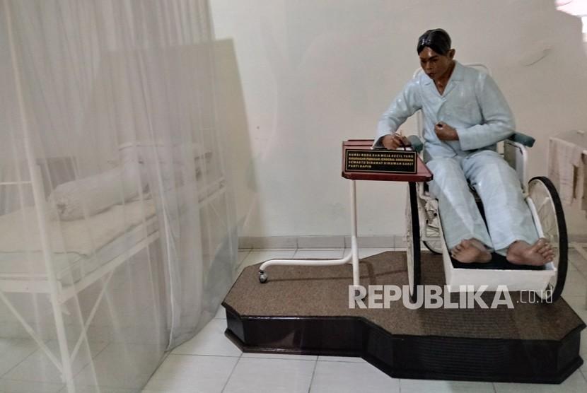 Replika bangsal Rumah Sakit Panti Rapih yang dipamerkan  di Museum Sasmitaloka Panglima Besar Jenderal Soedirman, Yogyakarta.  Bangsal ini pernah digunakan untuk merawat Panglima Jenderal Sudirman  ketika mengalami sakit paru-paru.