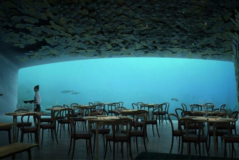 Restoran bawhalaut pertama Eropa.