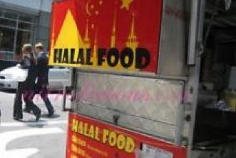 Restoran halal (ilustrasi).